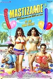Mastizaade (2016) Hindi 720p HEVC HDRip x265 AAC ESubs Full Bollywood Movie [550MB]