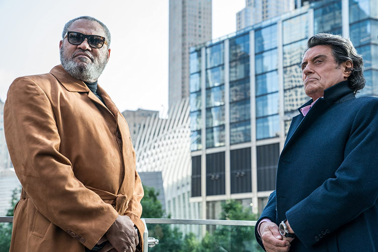 Laurence Fishburne & Ian McShane / John Wick: Chapter 3 - Parabellum. © 2019. All rights reserved.