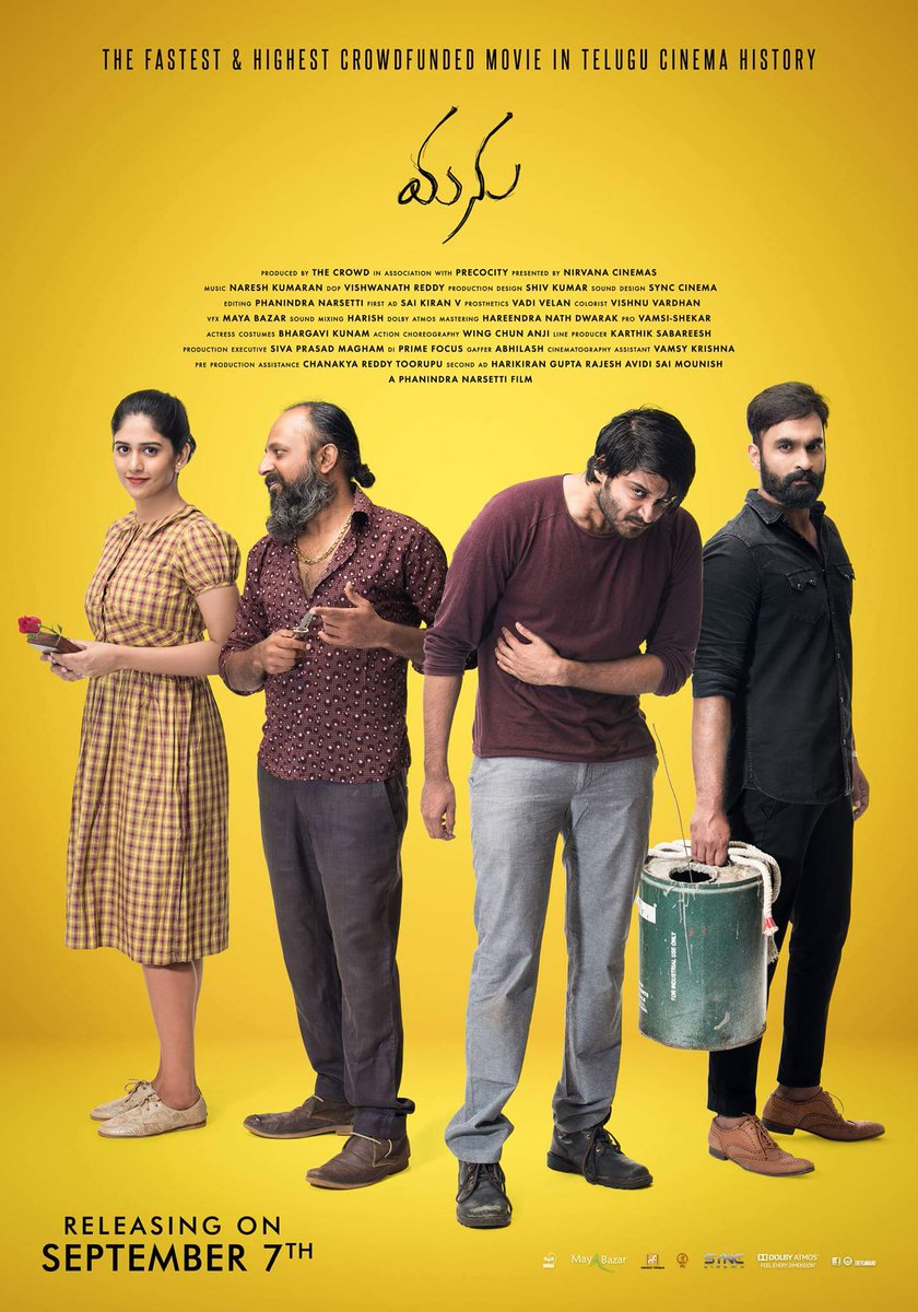 Manu (2018) Telugu WEB-DL 480P | 720P  x264 350MB | 1.1GB Download