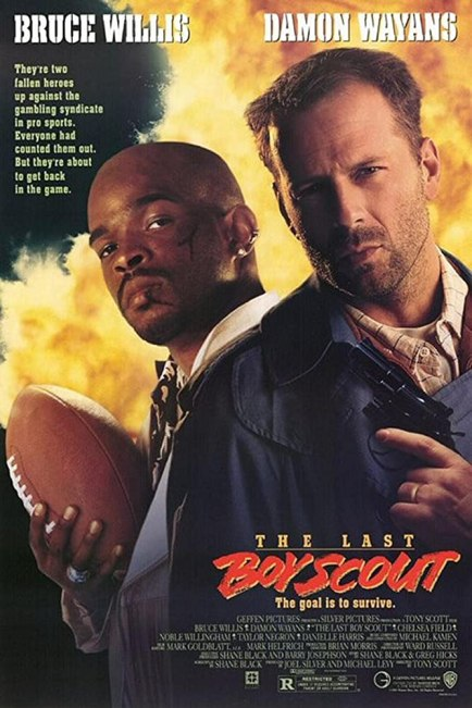 Bruce Willis and Damon Wayans in The Last Boy Scout (1991)