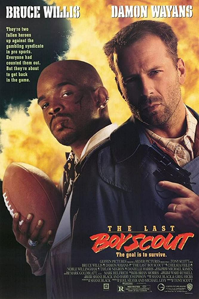 Bruce Willis and Damon Wayans in The Last Boy Scout (1991) - Christmas Movies