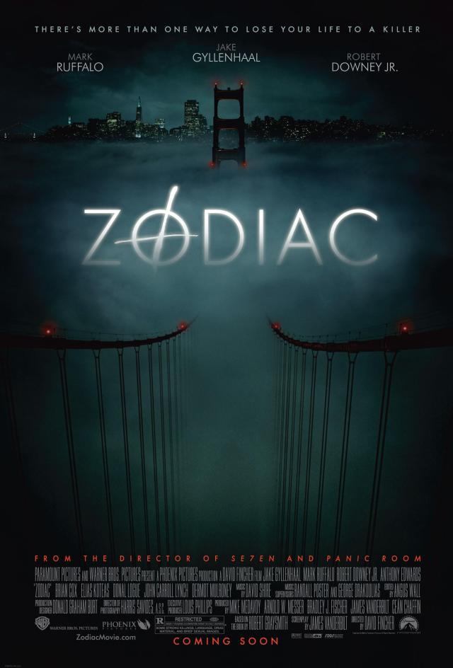 Risultati immagini per zodiac film poster