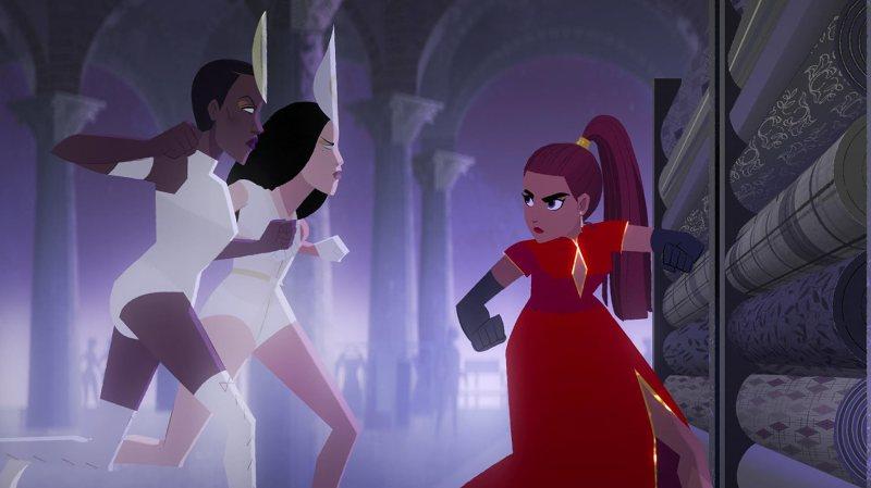 Gina Rodriguez in Carmen Sandiego (2019)