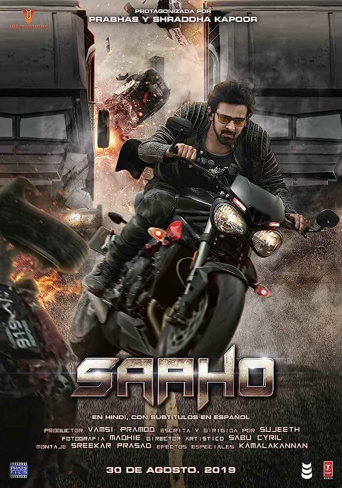 Download Saaho (2019) (Hindi) HDCam 480p || 720p