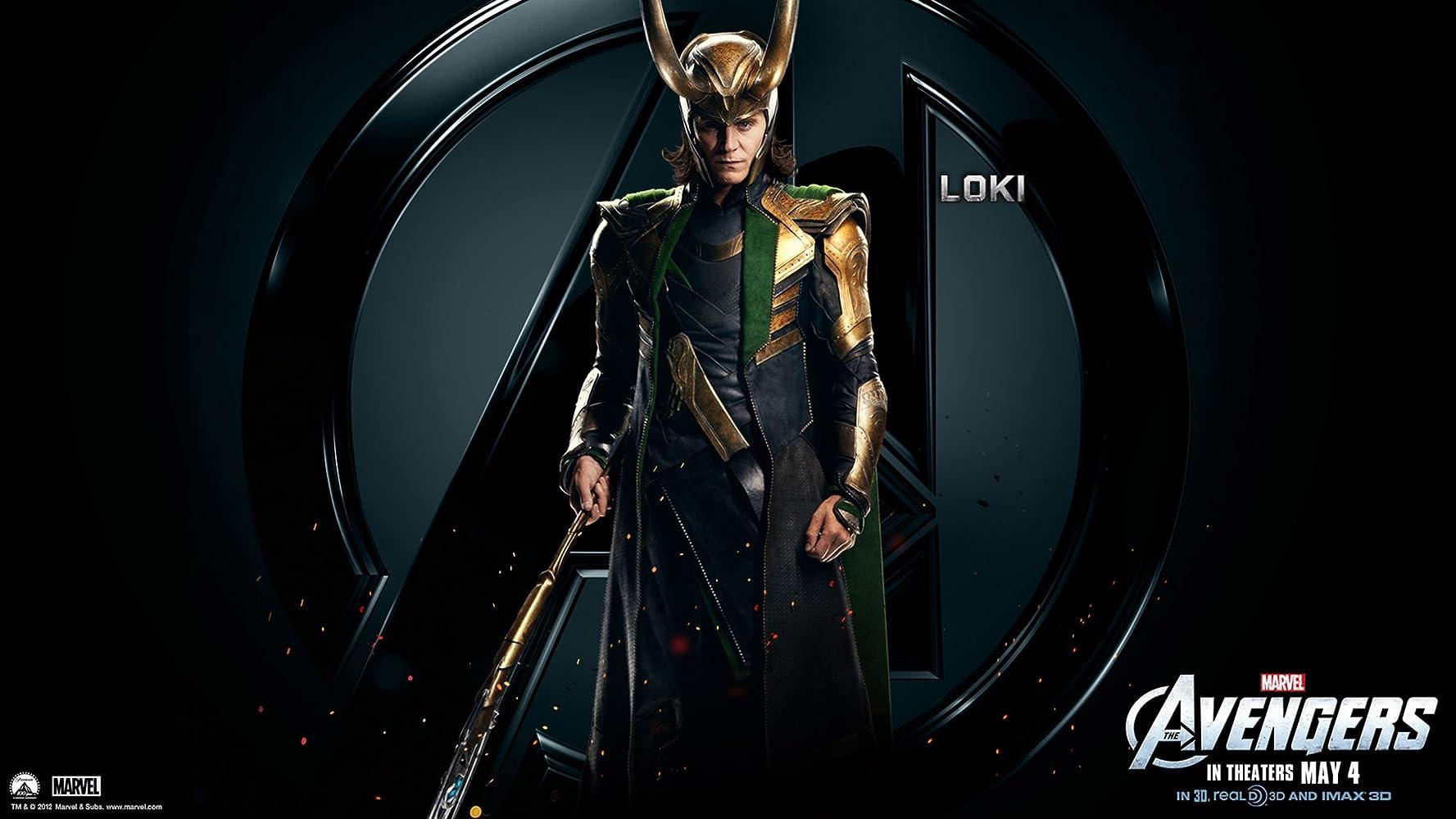 Tom Hiddleston as Loki / Avengers (2012) / IMDB.com