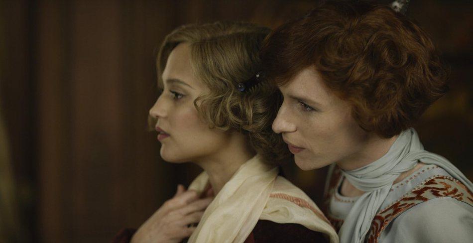 Eddie Redmayne and Alicia Vikander in The Danish Girl (2015)