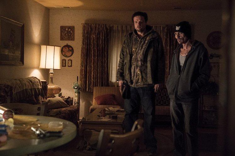 Charles Baker and Matt Jones in El Camino: A Breaking Bad Movie (2019)