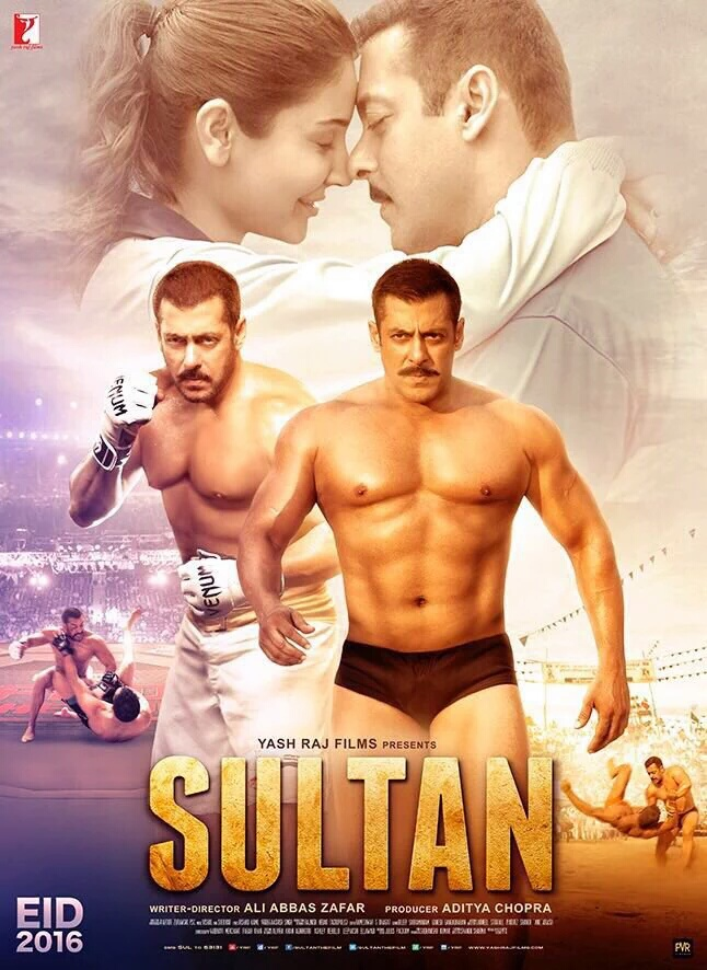 Sultan (2016) Hindi Blu-Ray - 480P | 720P - x264 - 500MB | 1.2GB - Download & Watch Online Movie Poster - mlsbd