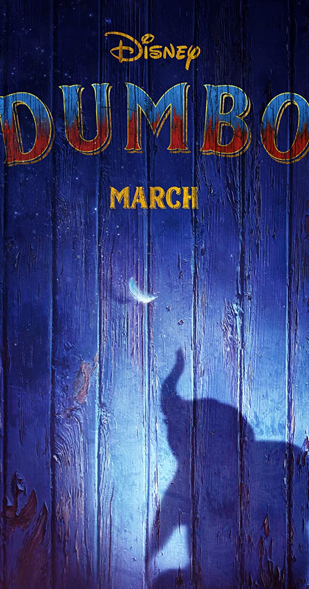 Image result for dumbo 2019 movie poster