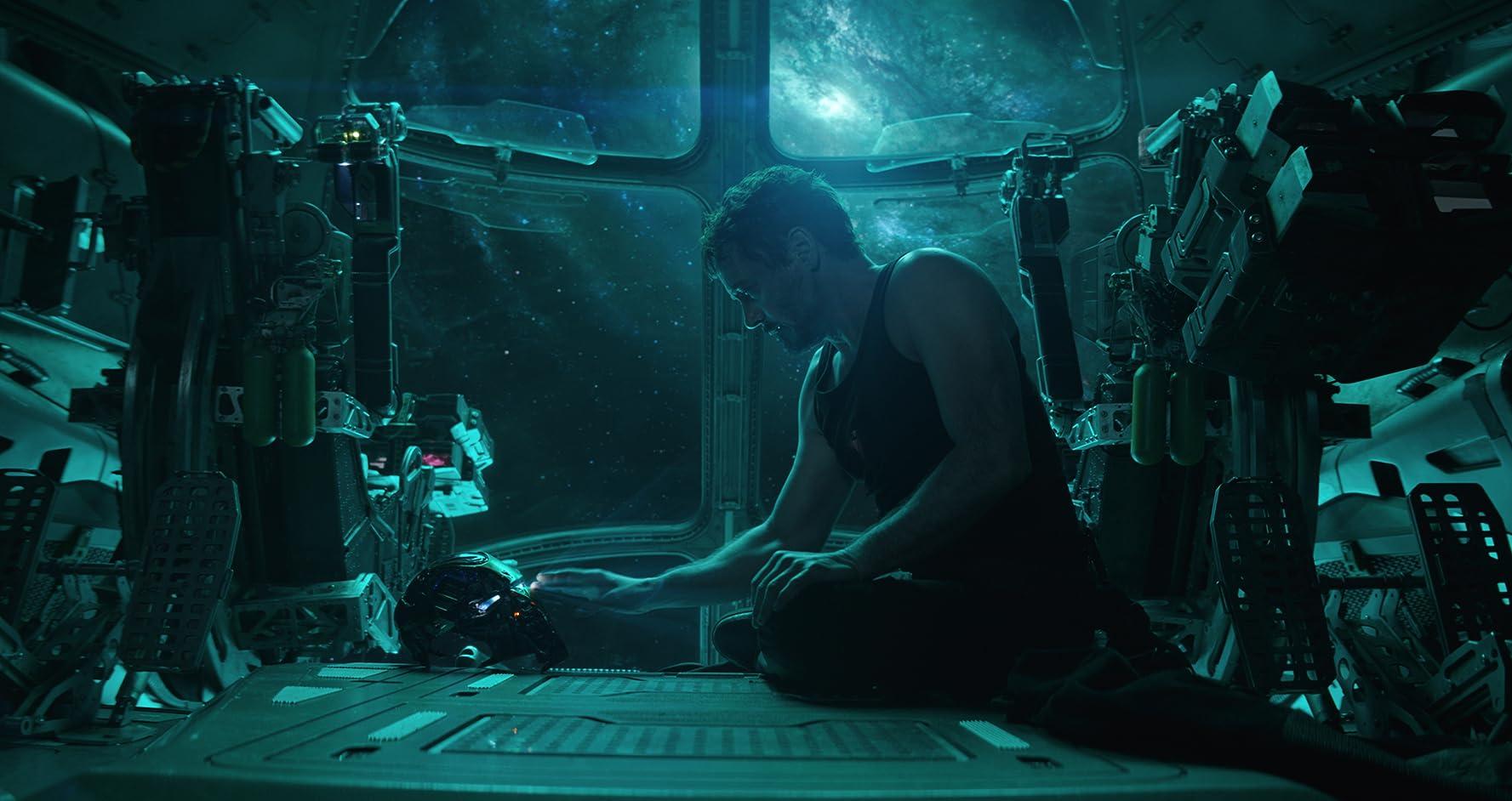 Robert Downey Jr. in Avengers: Endgame (2019). Photo by null - © Marvel Studios 2019