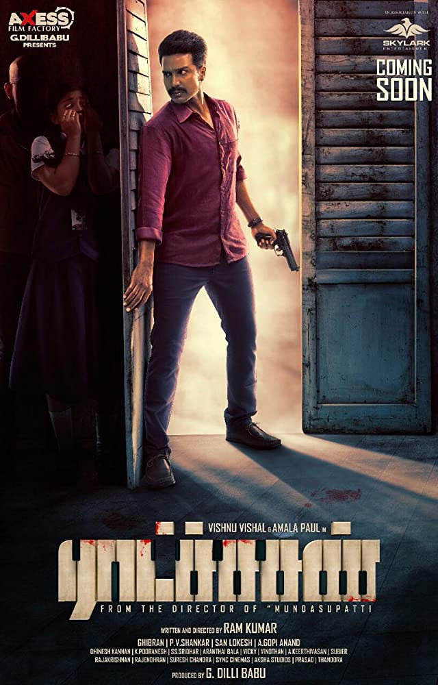 Ratsasan (2020) Hindi Dubbed UNCUT 720p HDRip 700MB Download