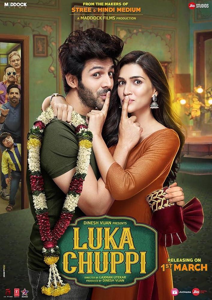 Luka Chuppi (2019) Hindi 720p WEB-DL x264 1GB | 350MB Download