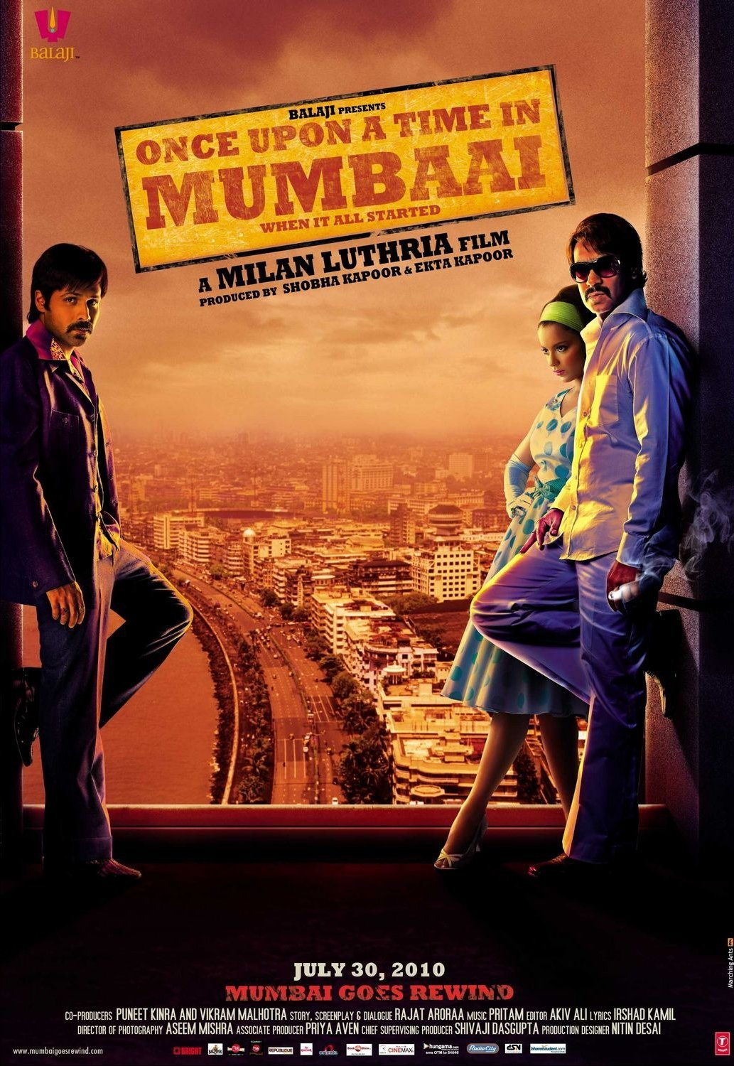 Once Upon A Time In Mumbaai Day-wise Box Office Collection & Worldwide Breakup