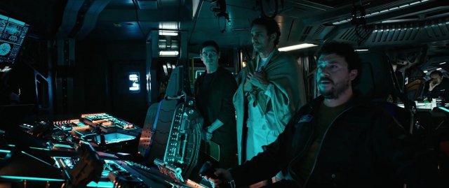 Billy Crudup, James Franco, and Danny McBride in Alien: Covenant (2017)
