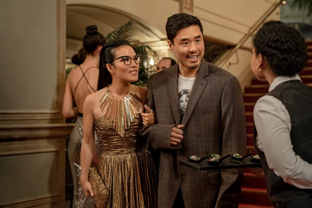 Randall Park and Ali Wong in Always Be My Maybe (2019) Romantic Comedy