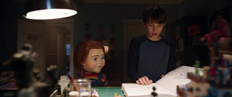Mark Hamill and Gabriel Bateman in Child's Play (2019)