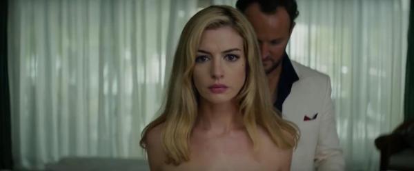 Anne Hathaway in Serenity 2018 trailer
