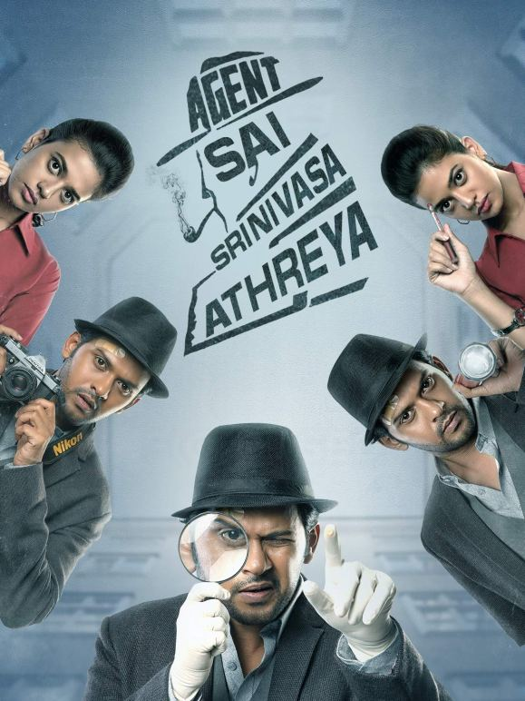 Agent Sai (Agent Sai Srinivasa Athreya) 2021 Hindi Dubbed 720p | 480p HDRip 700MB Download