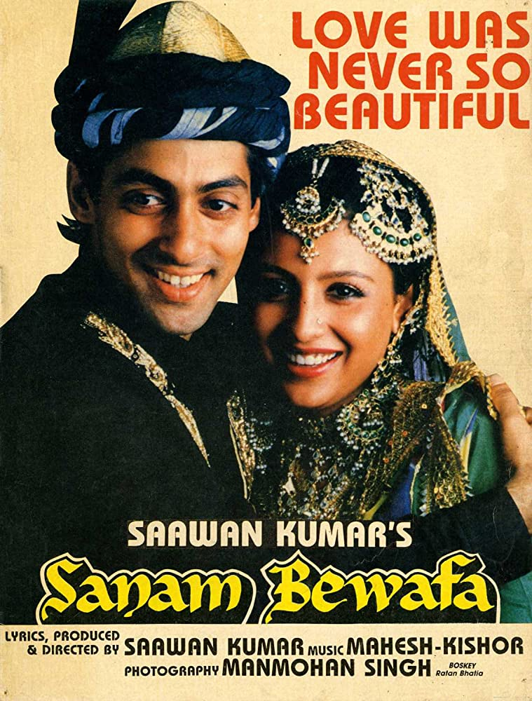 Sanam Bewafa 1991 Hindi Movie AMZN WebRip 400mb 480p 1.4GB 720p 4GB 10GB 1080p