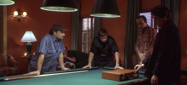 Kevin Spacey, Stephen Baldwin, and Kevin Pollak in The Usual Suspects (1995)