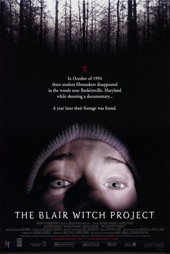Heather Donahue in The Blair Witch Project (1999)