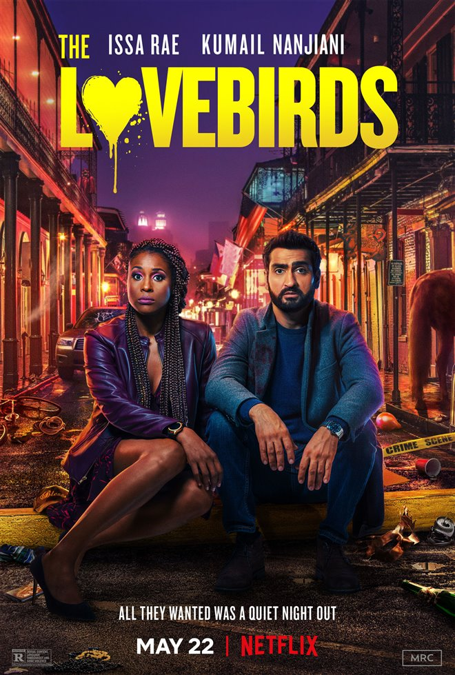 Kumail Nanjiani and Issa Rae in The Lovebirds (2020)