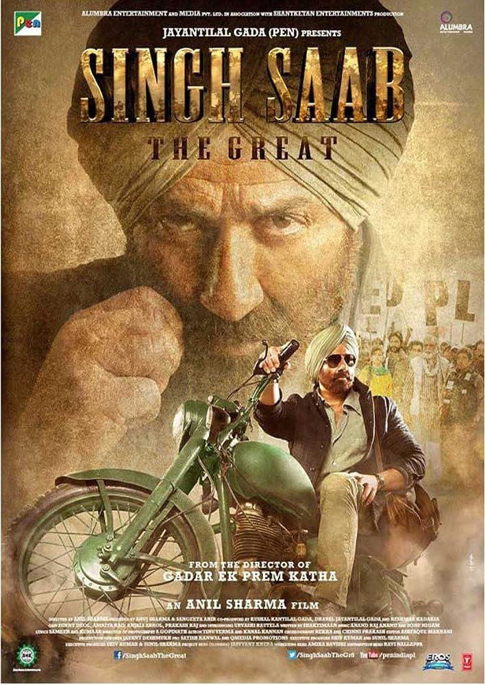 Singh Saab the Great 2013 Hindi 720p HDRip 700MB