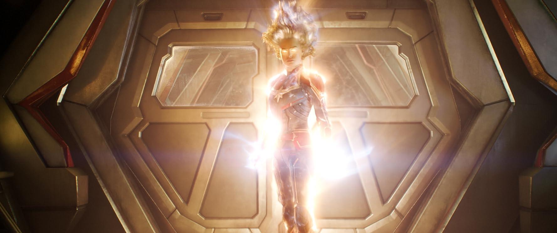 Brie Larson as Captain Marvel (2019)
