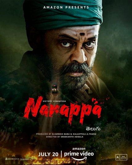 Download Naarappa 2021 Telugu 480p AMZN HDRip ESub 400MB