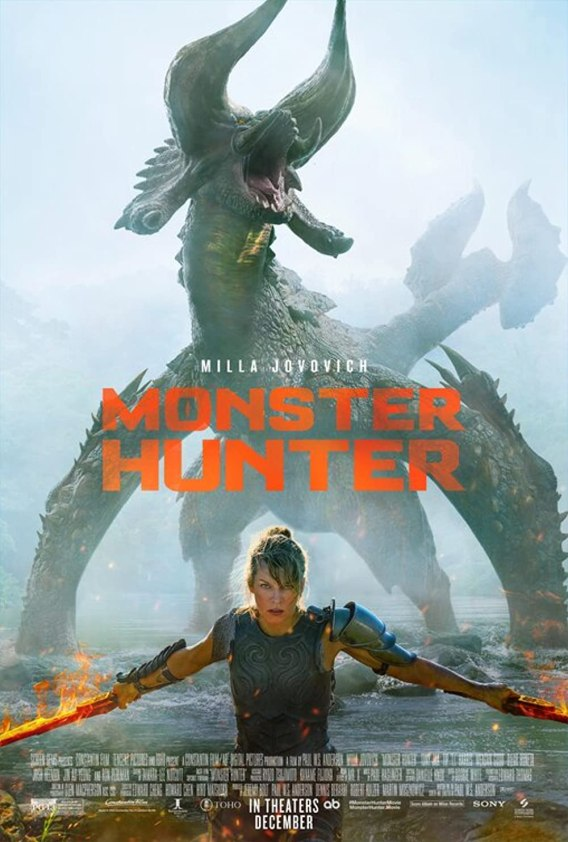 Monster Hunter 2020 Hindi Dual Audio 720p HDCAM 700MB Download