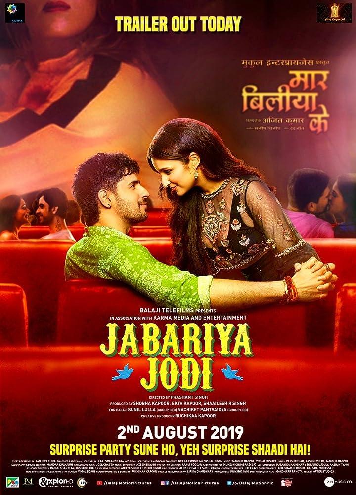 Upcoming Bollywood Movie Jabariya Jodi (2019) Star Cast, Release Date, Trailer, Songs, Story