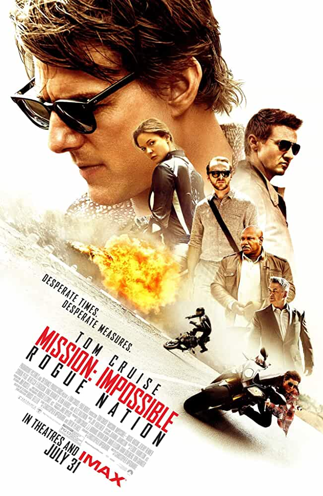 Mission Impossible: Rogue Nation 2015 BRRip 1080p In Hindi English ESub