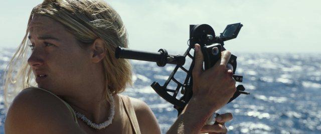 Shailene Woodley in Adrift (2018) vidas à deriva crítica