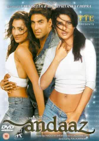 Download Andaaz 2003 full movie Hindi 480p | 720p HDRip