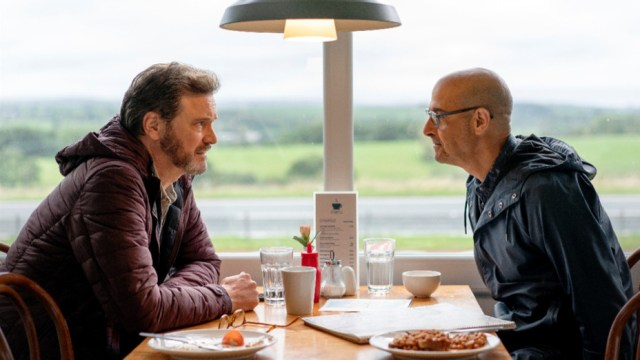Colin Firth and Stanley Tucci in Supernova (2020)