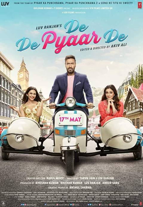Download De De Pyaar De (2019) Hindi Full Movie 720p [1GB] | 1080p [2GB] BluRay