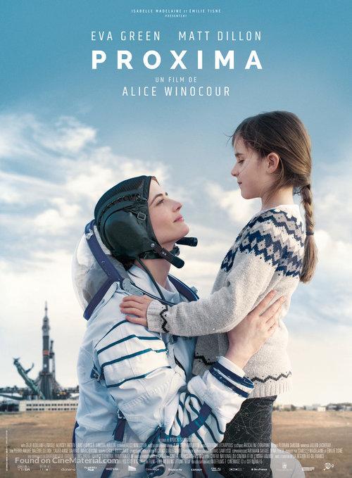 Eva Green and Zélie Boulant in Proxima (2019)