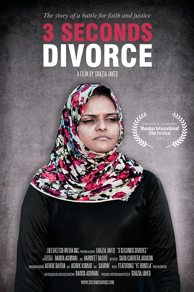 3 Seconds Divorce 2018 Hindi Movie WebRip 150mb 480p 450mb 720p