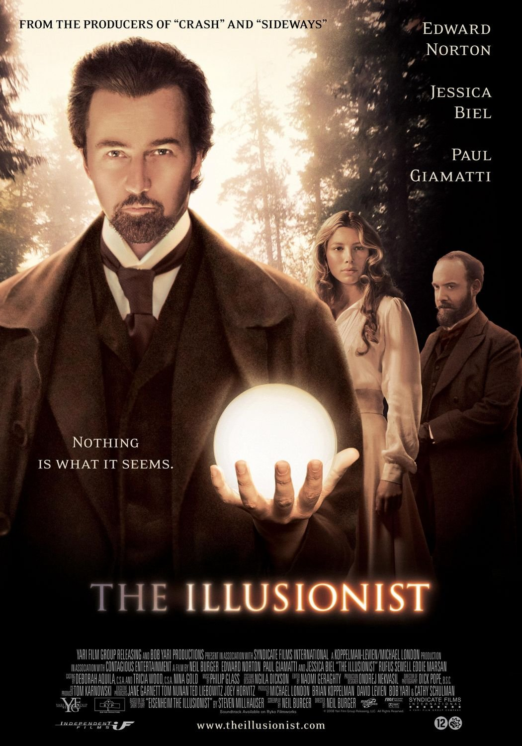 Image result for illusionist 2006
