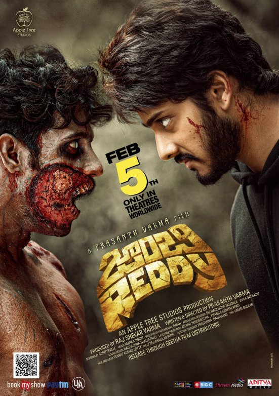 Download Zombie Reddy 2021 HQ Hindi Dubbed 480p HDRip 500MB