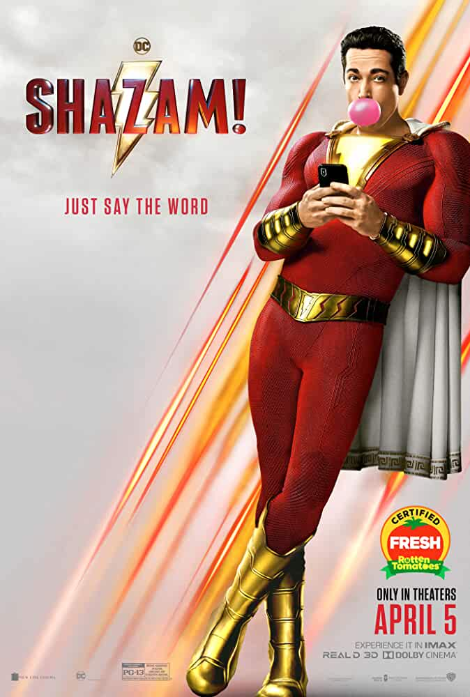 Shazam! (2019) Hindi 720p 480p HDCAM Rip Dual Audio [हिंदी – English] | Shazam Full Movie