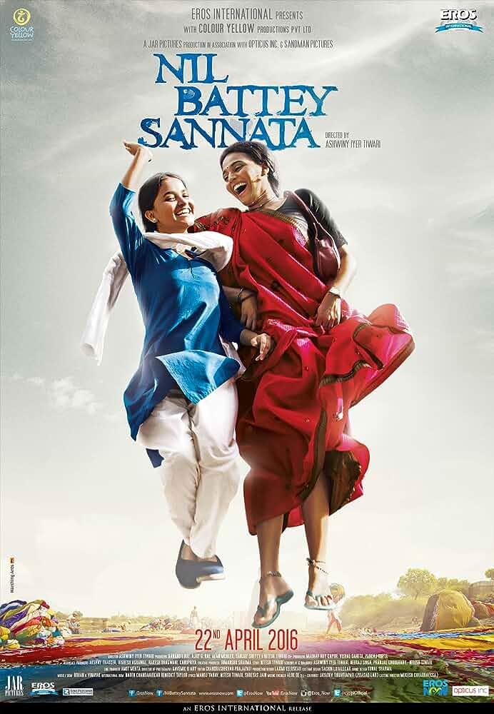 Download Nil Battey Sannata (2015) Hindi Full Movie HDRip 480p [300MB]   720p [800MB]