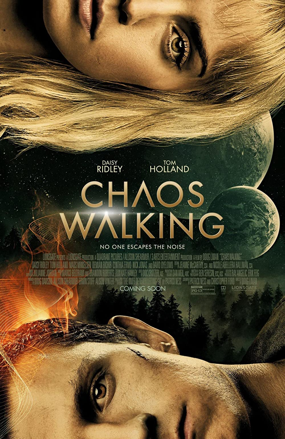 Chaos Walking 2021 English 480p |  720p HDCAM 775MB | 400MB Download