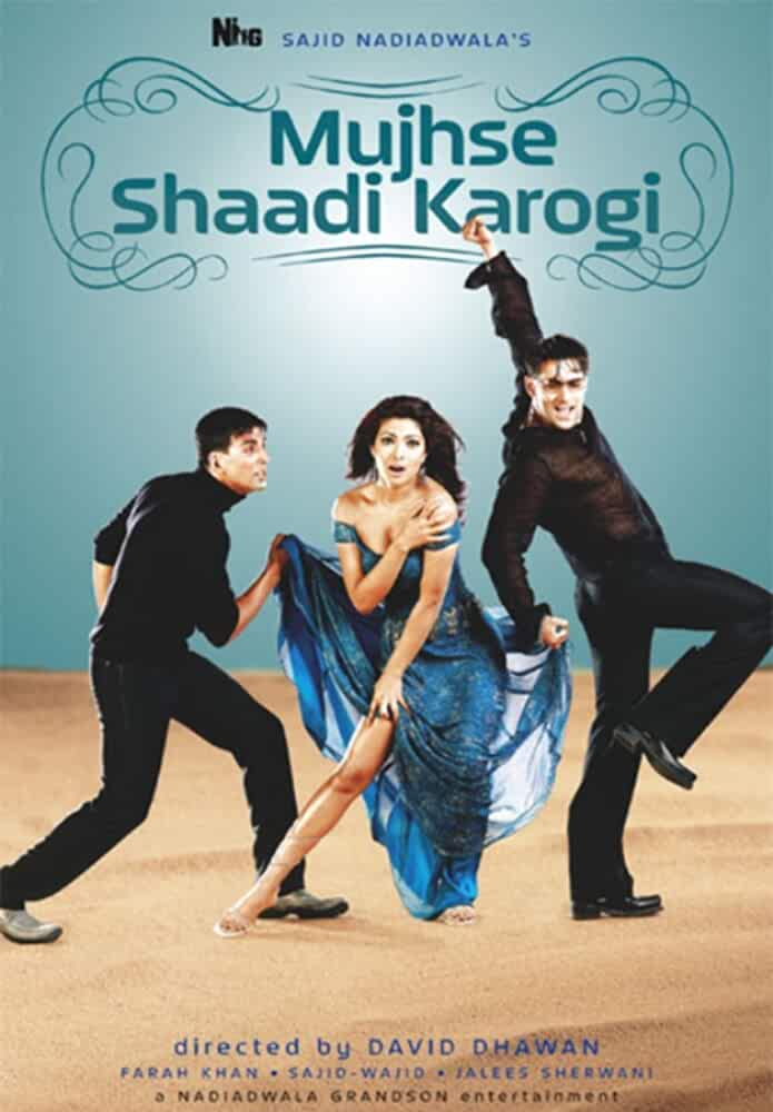 Download Mujhse Shaadi Karogi (2004) Hindi Full Movie 480p [400MB] | 720p [1.4GB]