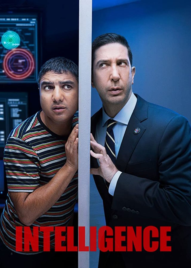 David Schwimmer and Nick Mohammed in Intelligence (2020)