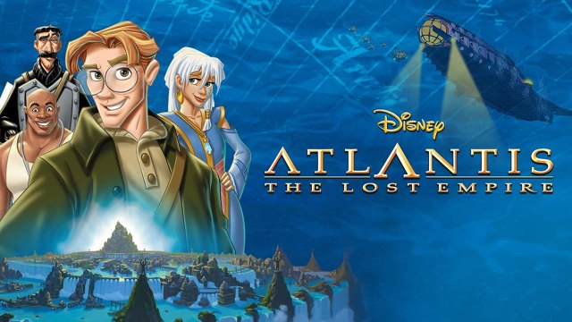Atlantis: The Lost Empire (2001) Disney Film Rotten Tomatoes