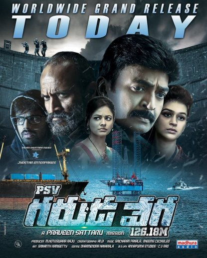 Garudaveda (PSV Garuda Vega) 2020 Hindi Dubbed 720p HDRip 1.5GB | 450MB Download