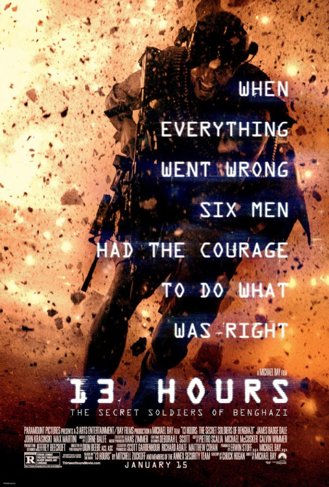 13 Hours The Secret Soldiers of Benghazi 2016 UHD BluRay