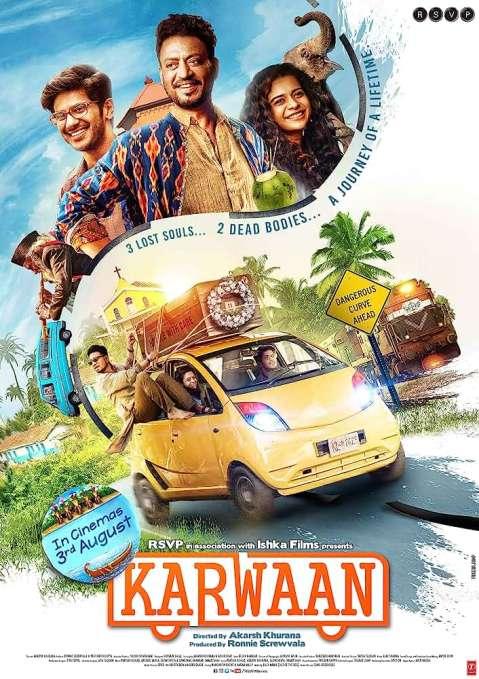 Download Karwaan 2018 Hindi Movie 480p [400MB] | 720p [1GB] WEB-DL