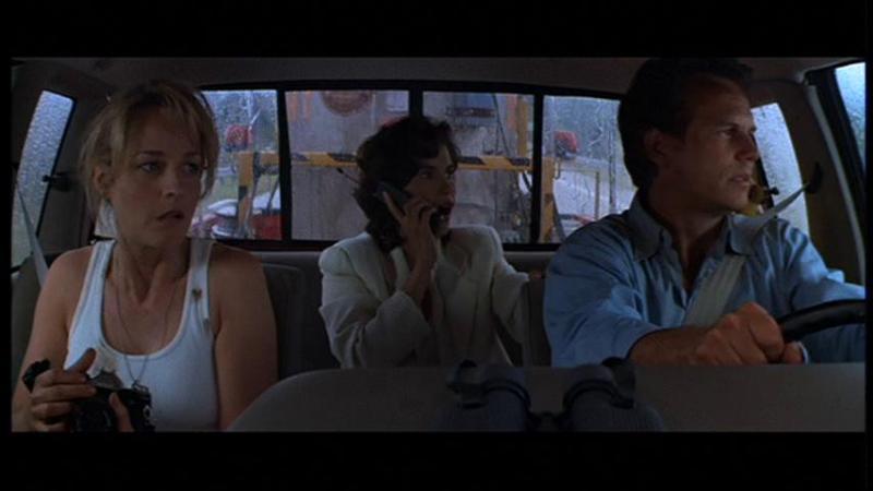 Helen Hunt, Bill Paxton, and Jami Gertz in Twister (1996)